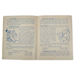 Booklet, IRTC Handbook, Camp Blanding, 71st Inf. Div., 1944