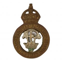 Cap Badge, Princess Patricia's Canadian Light Infantry, Sicile, Italie & Hollande