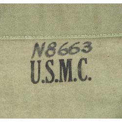 Case, Canvas, M-1938, USMC, 1943, Named