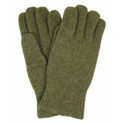 Gloves, Wool, OD, Size 10