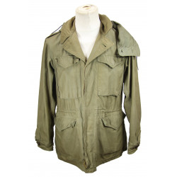 Jacket, Field, Combat, M-1943, 1st Type, with hood, named