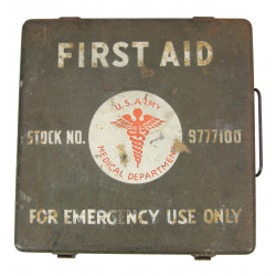 Kit, First Aid, Motor, Vehicle, 24 Unit, Item No. 9777100