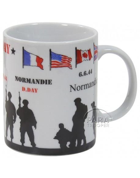 Mug D-Day soldats