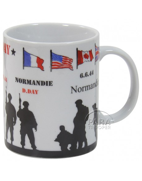 Mug, D-Day soldiers