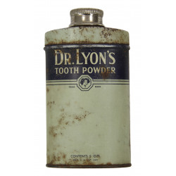 Powder, Tooth, Dr. Lyon's
