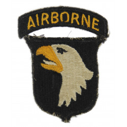 Patch, 101st Airborne Division, White Tongue, Green Back, 1943