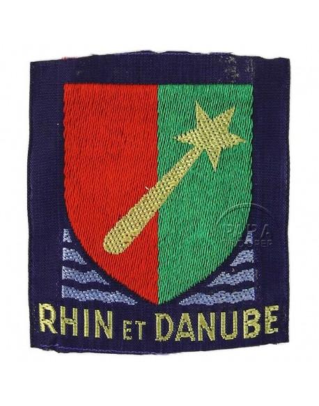 Insigne, 1e Armée Française (Rhin & Danube), 1945