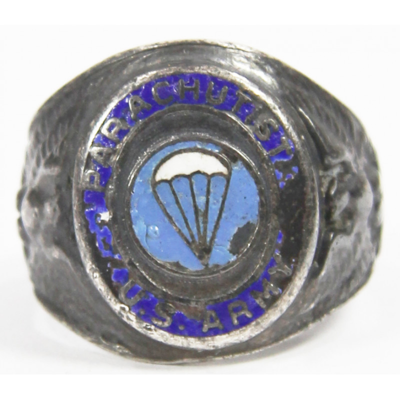 Ring, US Army Parachutist, Sterling