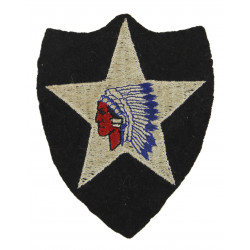 Patch, 2nd Infantry Division, felt