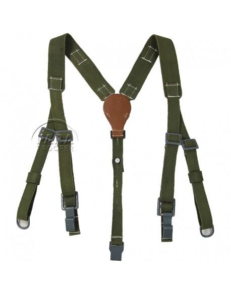 Suspenders, Field, Canvas, green