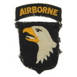 Patch, 101st Airborne Division, Type 6, white tongue