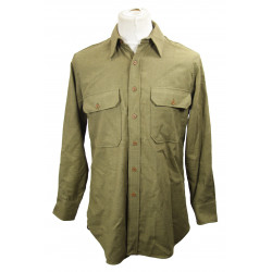 Shirt, Wool, Enlisted men's, 1942