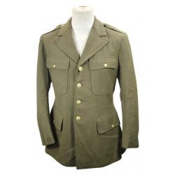 Coat, Wool, Serge, OD, 42R, 1942, ID