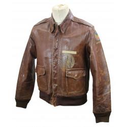 Jacket, Leather, A-2, USAAF, Named