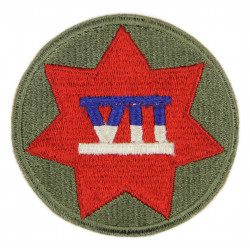 Insigne, VII Corps, US Army, Utah Beach