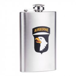 Flasque, 101st Airborne, inox