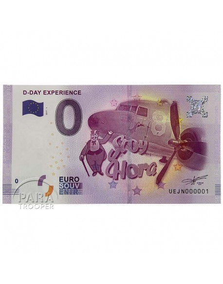 Banknote, D-Day Experience