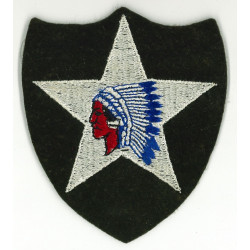 Patch, 2nd Infantry Division, felt