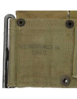 Belt, Cartridge, M1, 1942, Camouflaged