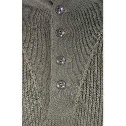 Pull en laine 5 boutons, Small