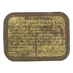 Case, Tea, Ration, British