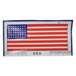 Flag, U.S.A, Sticker, vehicle