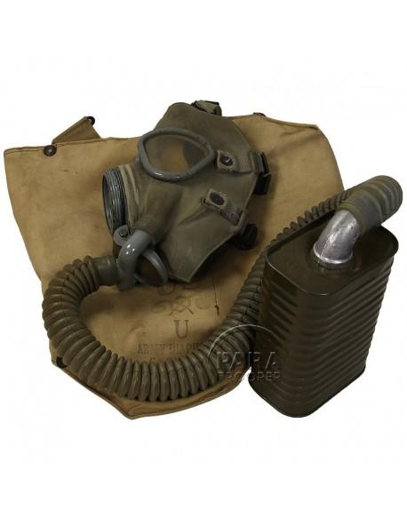 Masque anti-gaz M3 IX A1, 1941