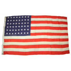 Flag, US, 48 Stars, Embroidered, 3' x 5' Ft., Sterling