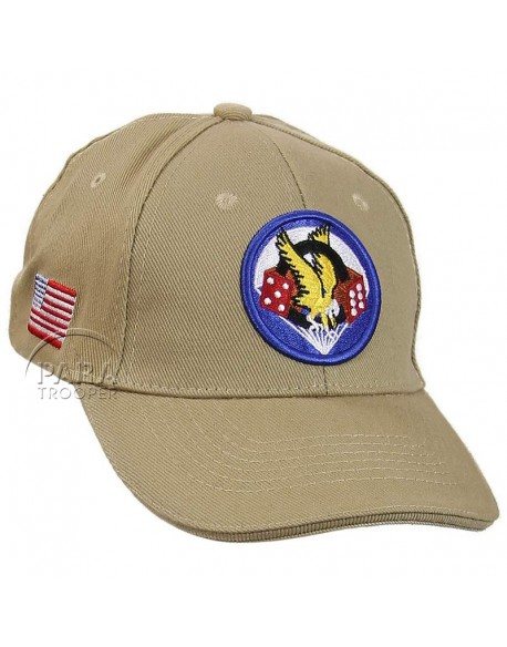 Casquette 506e PIR, 101e Airborne, kaki