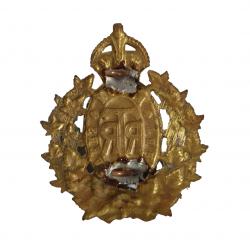 Cap Badge, The Three Rivers Regiment, Sicily, Italy & Holland