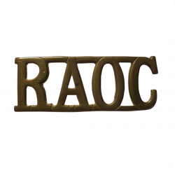 Shoulder Title, Royal Army Ordnance Corps