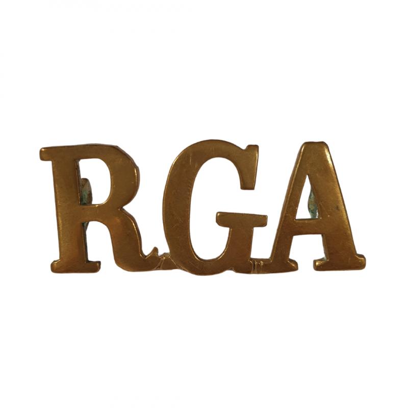 Shoulder Title, Royal Garrison Artillery