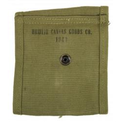 Pouch, Magazine, M1 carbine, HAMLIN CANVAS GOODS CO. 1943