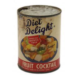 Boîte de conserve US, salade de fruits, ration 10-in-1