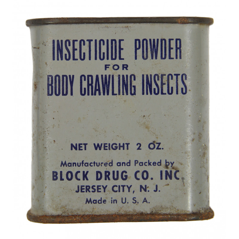 Tin, Powder, Insecticide, Full
