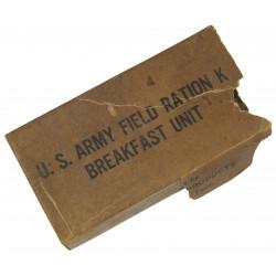 Ration, K, Breakfast, 1944