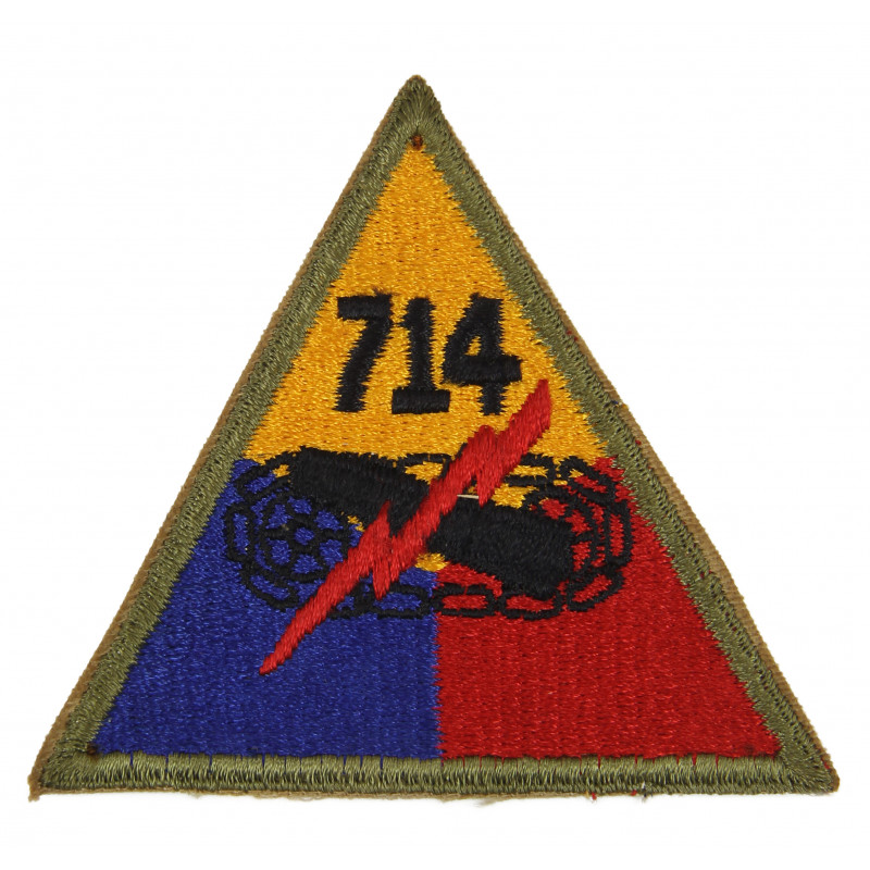Patch, 714th Tank Battalion (12th Armored Division)