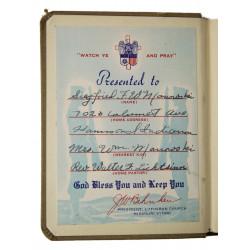 Livret de prières, Army & Navy, 1941