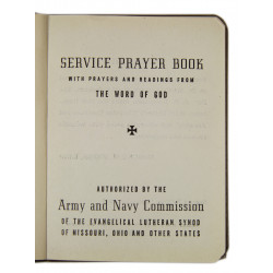 Book, Prayer, Service, Army & Navy, 1941