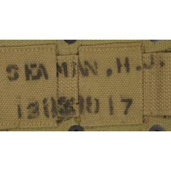 Ceinturon Garand M1, R. M. Co, 1942, nominatif, USAAF, B-17/B-29