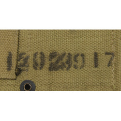 Belt, Cartridge, M1 rifle, R. M. Co, 1942, named