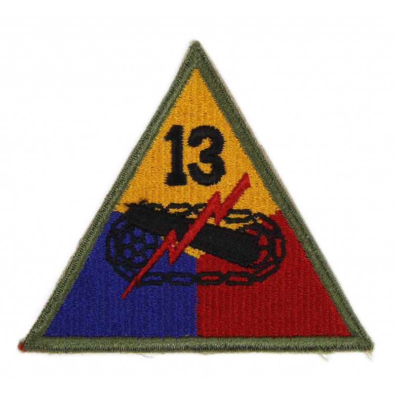 Patch, 13th Armored Division