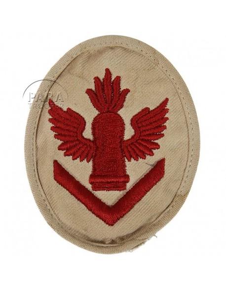 Patch, Sleeve, Senior, light artillery, Kriegsmarine