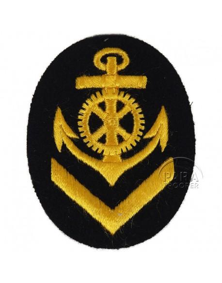 Patch, Sleeve, Senior, Engineer, Kriegsmarine