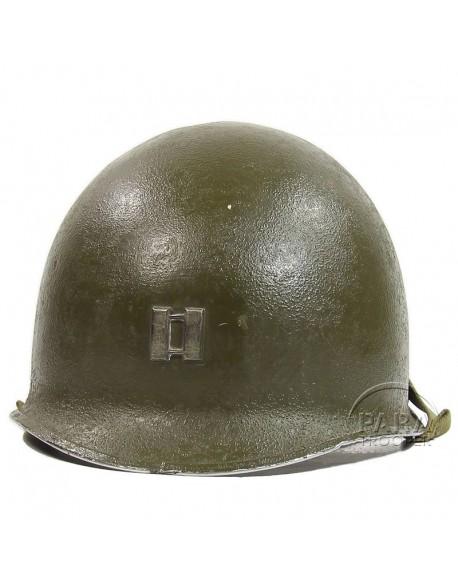 Helmet USM1, Captain, ETO bar