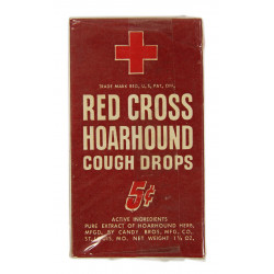 Cough Drops, Red Cross, Hoarhound