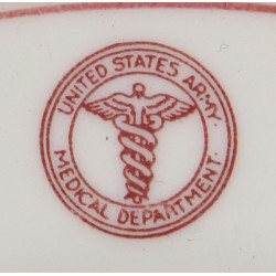 Plate, China, US Army Medical Department