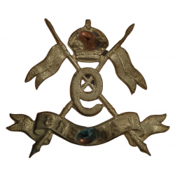 Cap Badge, 9th Queen's Royal Lancers