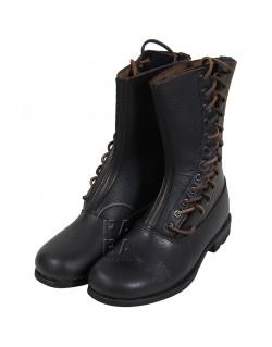 Boots, Parachutist, Luftwaffe, side laces
