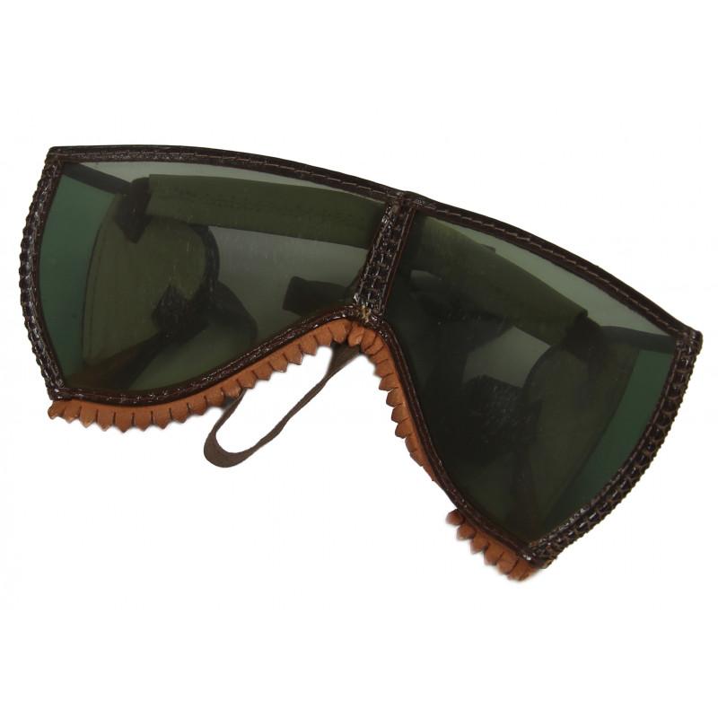 Goggles, Polaroid, Ski, M-1943, green, Mountain troops, FSSF